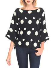 Women - Polka Dot Sweater