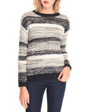 Women - Stripe Oversized Sweater