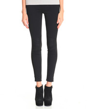 Leggings - Tacy Patch Faux Suede Legging