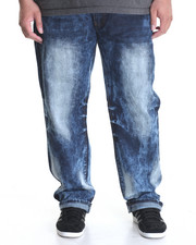 Jeans - Washed Denim Jeans (B&T)