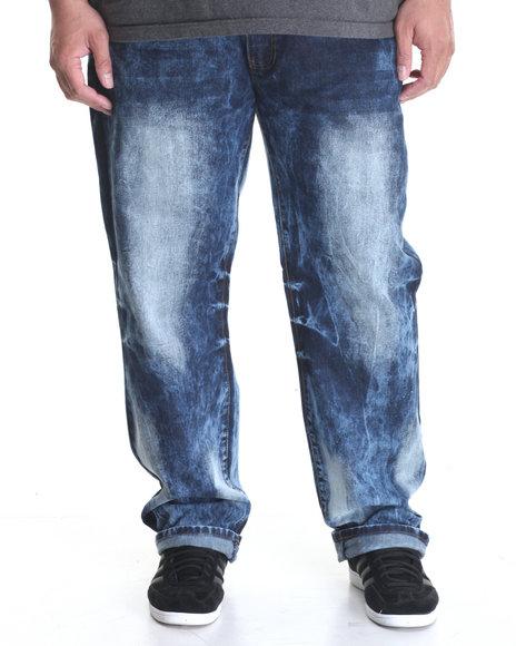 Winchester - Men Medium Wash Washed Denim Jeans (B&T)