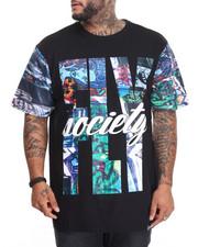 Flysociety - Graffati Print T-Shirt (B&T)