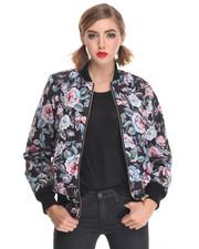 Jackets & Coats - FLORAL AVE  Faux Fur REVERSE JKT