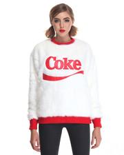 Joyrich - Coke Candy Faux Fur Pullover