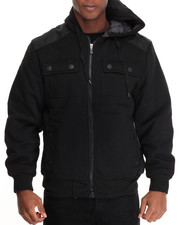 Buyers Picks - Brainchild Nylon - Paneled Fleece Jacket