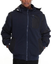 Buyers Picks - Distance Ballistic Nylon Trimmed Lined Zip - Up Fleece Jacket
