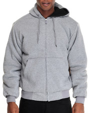 Buyers Picks - Sherpa - Lined Fleece Zip - Up Hoodie
