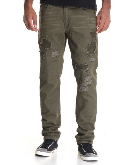 Born Fly Men Evers Jeans Green 30