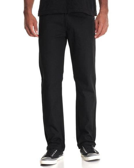 Akademiks Men Culture Twill Pant Black 30x32