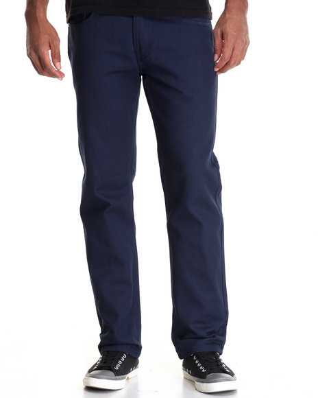 Akademiks - Men Navy Culture Twill Pant