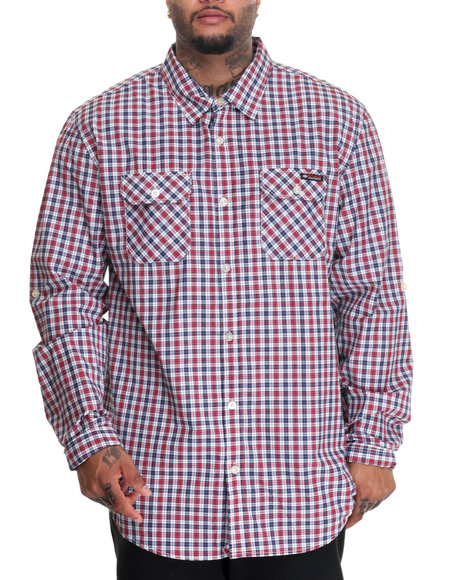 Enyce - Men Red Mr Pickles L/S Button-Down (B&T) - $40.00