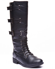 Basic Essentials - Monique Buckle Strap Boot