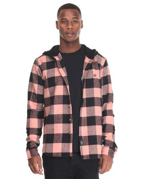 10.Deep - CB'S HOODED FLANNEL