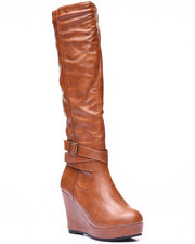 Basic Essentials - Rocket High Wedge Boot
