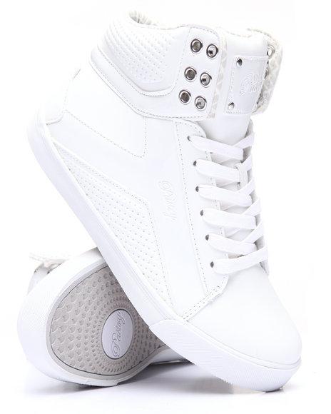 Pastry - Women White Pop Tart Grid Sneaker