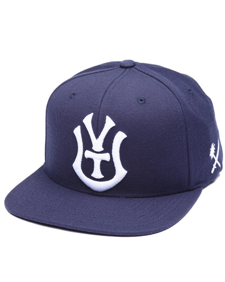Us Versus Them Men Borough Snapback Cap Navy