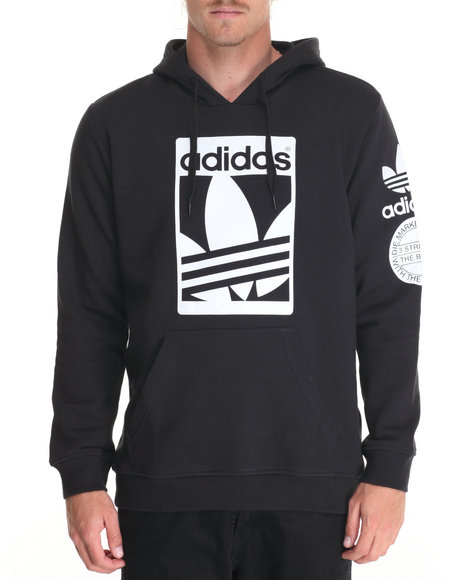 Adidas Men Street Graphic Hoodie Black XXLarge