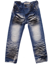 Arcade Styles - EXTREME CRINKLE WASH JEANS (4-7)