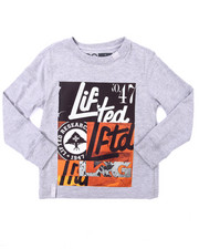 Tops - LIFTED MIXUP L/S TEE (4-7)