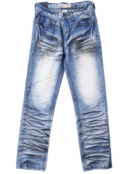 Arcade Styles Light Wash Jeans