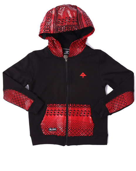 Lrg - Boys Black Journey Hoody (4-7)