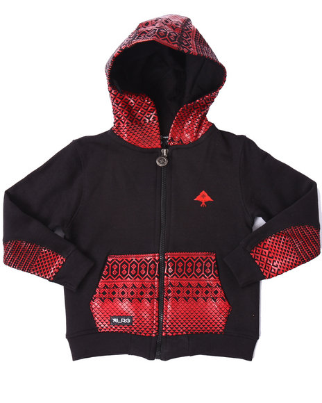 Lrg - Boys Black Journey Hoody (2T-4T)