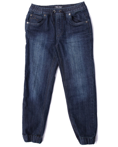 Lrg - Boys Medium Wash Vision Denim Jogger (8-20)