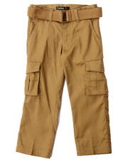Pants - BELTED CARGO PANTS (4-7)