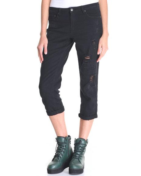 La Belle Roc Black Jeans