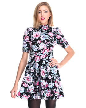 Joyrich - FLORAL AVE HIGHNECK DRESS