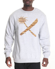 Men - Crosscut Crewneck Sweatshirt