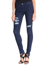 Jeans - Super Skinny Jean w/Destressed Detail