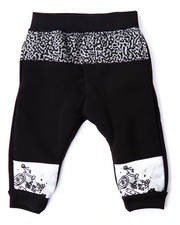 Pants - CUT & SEW ELEPHANT PRINT JOGGERS (INFANT)