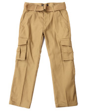 Bottoms - BELTED CARGO PANTS (8-20)