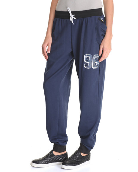 Lady Enyce Navy Pants