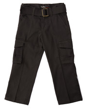 Bottoms - BELTED CARGO PANTS (4-7)