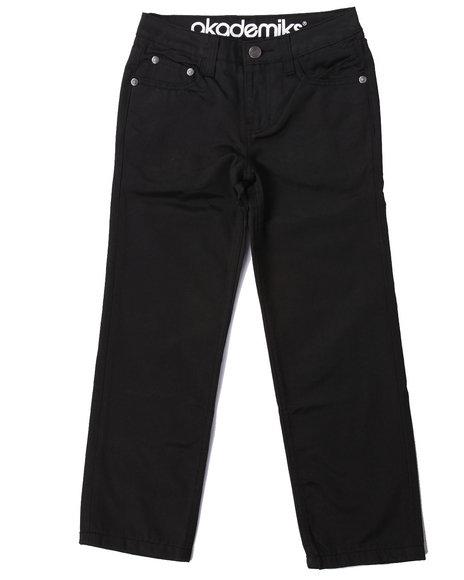 Akademiks - Boys Black Viscose Jeans (8-20)