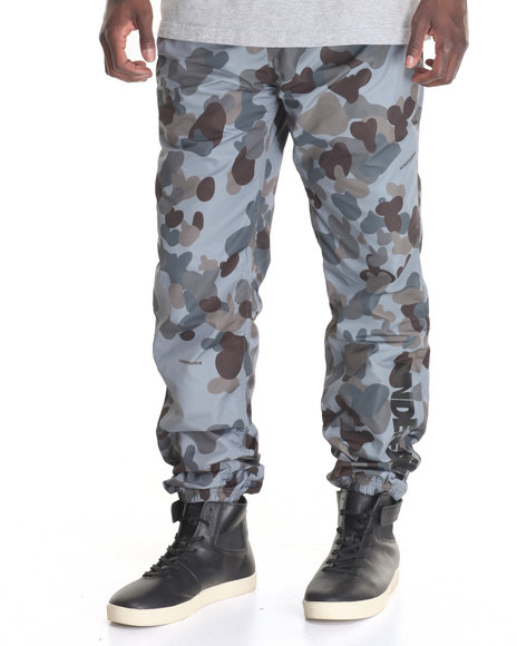 Mens Fitted Camo Pants
