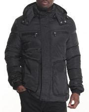 Outerwear - Marqt Tripunta - Stitch Coat W/ Detachable Hood