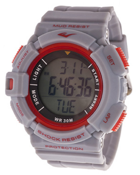Everlast Men Everlast Heart Rate Monitor Watch Grey 1SZ