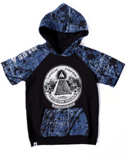 Boys - BLUEPRINT S/S RAGLAN HOODY (8-20)