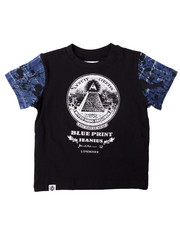 Boys - BLUEPRINT TEE (2T-4T)