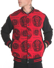 Outerwear - $$$ Getting Paid Varsity Jacket