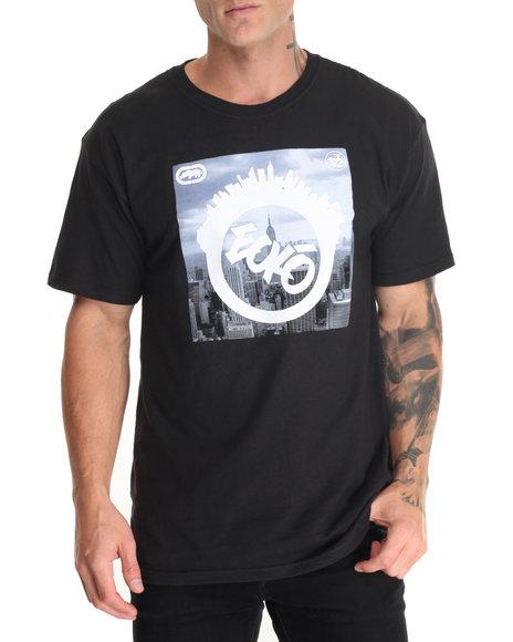 Ecko Men City Circle T-Shirt Black Large - $15.99