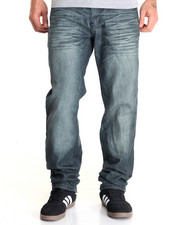 Basic Essentials - Night Mercerized Flap - Pocket Denim Jeans