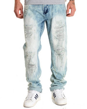 Jeans & Pants - Streak - Wash Rip - And - Repair Denim Jeans