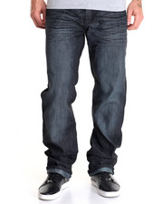Men - Black - Tint Coated Denim Jeans