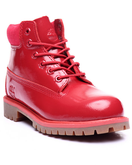 Timberland - Girls Red 6