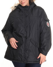 "Heavy Coats - Nylon 29"" Canada Parka (Plus size)"