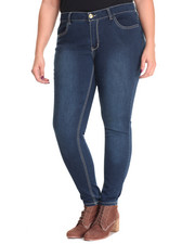 Jeggings  - Power Stretch Sandblasted Jegging (Plus)